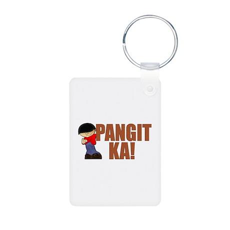Pangit Ka! Aluminum Photo Keychain