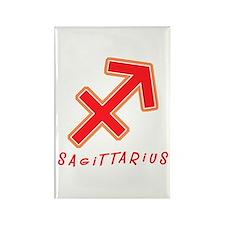Zodiac Sagittarius Rectangle Magnet