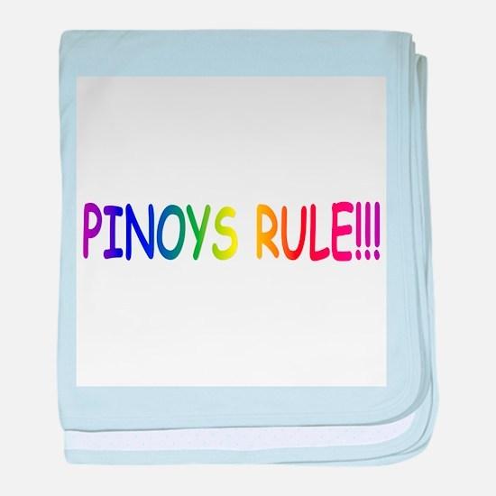 Pinoys Rule baby blanket