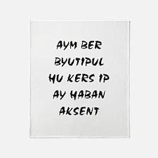 Aym Ber Byutipul Throw Blanket