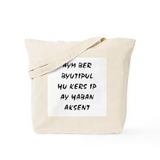 Aym Ber Byutipul Tote Bag