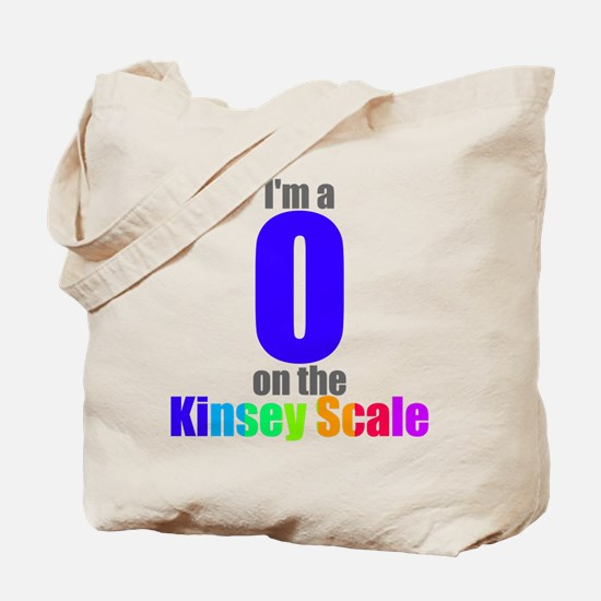 Kinsey Scale 0 Tote Bag