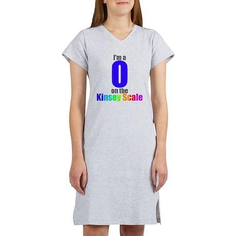 Kinsey Scale 0 Women's Nightshirt