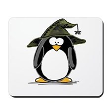 Witch penguin Mousepad