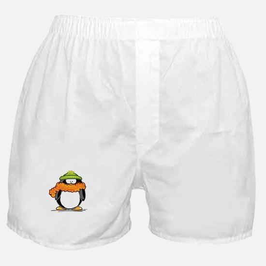 Winter penguin Boxer Shorts