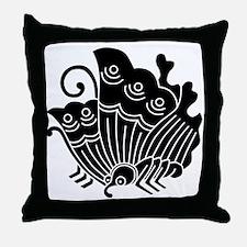 Agehacho(B) Throw Pillow