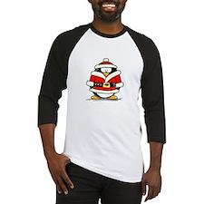 Santa Claus penguin Baseball Jersey