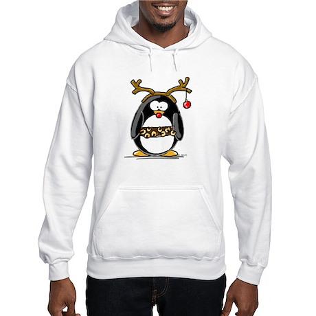 Rudolph penguin Hooded Sweatshirt