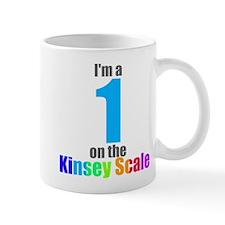 Kinsey Scale 1 Mug