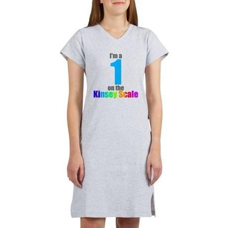 Kinsey Scale 1 Women's Nightshirt