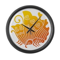 Agehacho(YO) Large Wall Clock