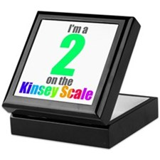 Kinsey Scale 2 Keepsake Box