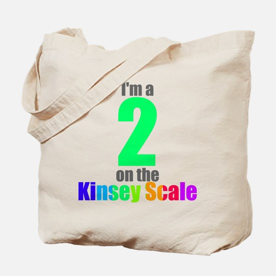 Kinsey Scale 2 Tote Bag