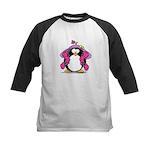 Diva penguin Kids Baseball Jersey