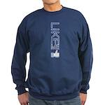 Like Me Sweatshirt (dark)