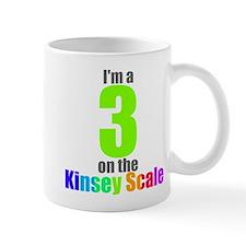Kinsey Scale 3 Mug