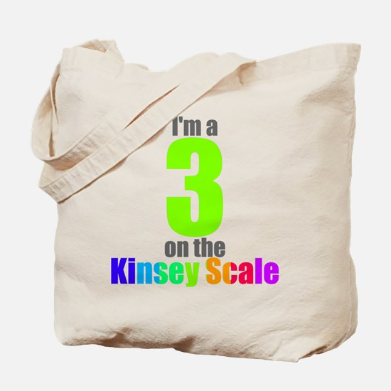 Kinsey Scale 3 Tote Bag