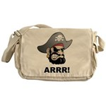 Arr Pirate Messenger Bag
