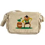 Funny Pirate Messenger Bag