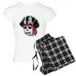 Skeleton Pirate Women's Light Pajamas