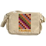 Pop Art Taurus Messenger Bag