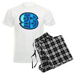 Cancer Symbol Men's Light Pajamas