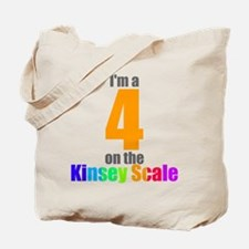 Kinsey Scale 4 Tote Bag