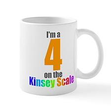 Kinsey Scale 4 Mug