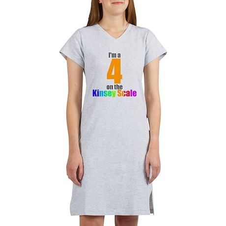 Kinsey Scale 4 Women's Nightshirt