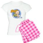 Cute Aquarius Women's Light Pajamas