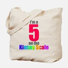 Kinsey Scale 5 Tote Bag