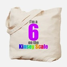 Kinsey Scale 6 Tote Bag