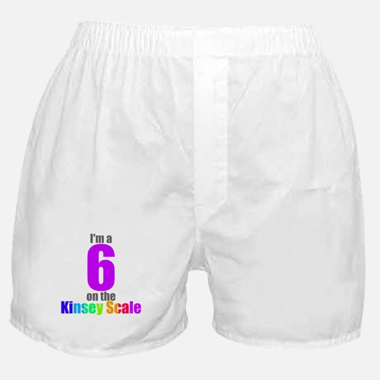 Kinsey Scale 6 Boxer Shorts