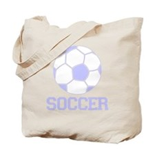 Soccer with Soccer Ball Baby Tote Bag