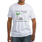 Radiation and Cancun Fitted T-Shirt