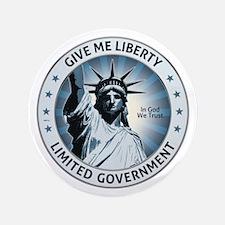 "Give Me Liberty 3.5"" Button"