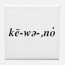 Keweenaw Tile Coaster