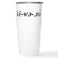 Ke·wee·naw Travel Coffee Mug
