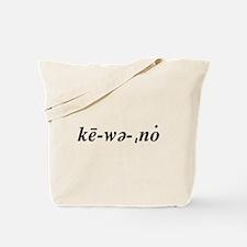Ke·wee·naw Tote Bag