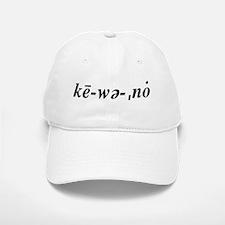 Ke·wee·naw Baseball Baseball Cap