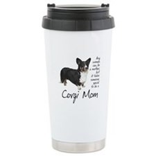 Cardigan Corgi Travel Coffee Mug