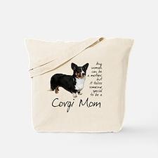 Cardigan Corgi Tote Bag