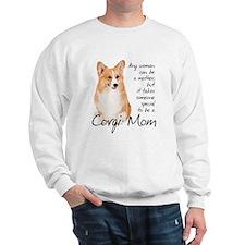 Pembroke Corgi Mom Sweatshirt