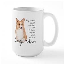 Pembroke Corgi Mom Ceramic Mugs