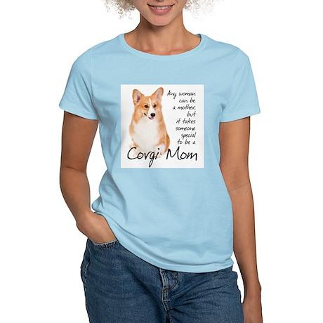 Pembroke Corgi Mom Women's Light T-Shirt