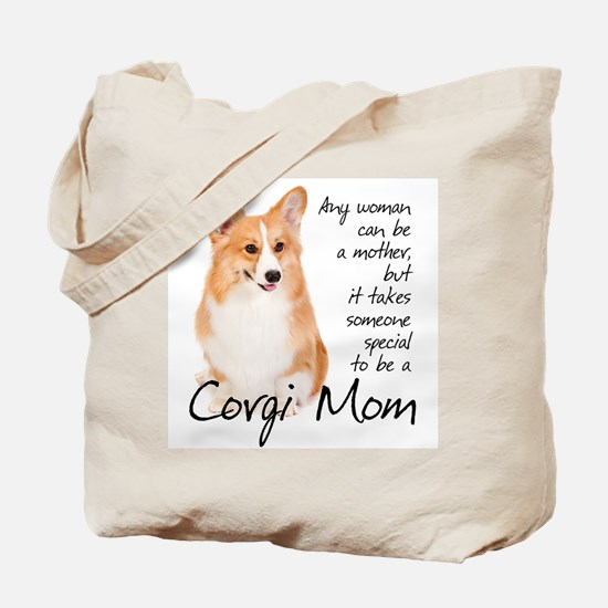 Pembroke Corgi Mom Tote Bag