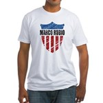 Marco Rubio Shield Fitted T-Shirt