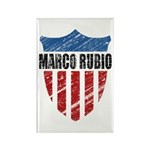 Marco Rubio Shield Rectangle Magnet