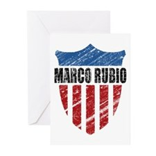 Marco Rubio Shield Greeting Cards (Pk of 20)