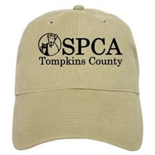 SPCA of Tompkins County cap with official logo